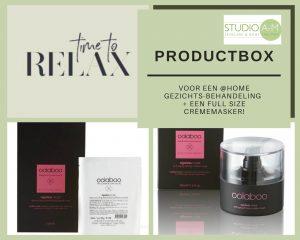 Productbox @home treatment plus masker